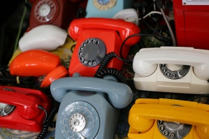 Many telephones