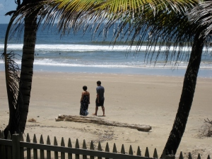 Mayaro Beach in Trinidad, our arms dealer has good taste.