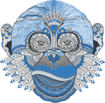pixabay-blue-gorilla-graphic