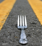 It's a fork in the road